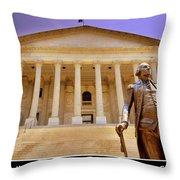 South Carolina State House Columbia Sc Throw Pillow