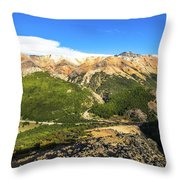 South Chile Patagonia Throw Pillow