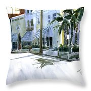 South County Road Throw Pillow