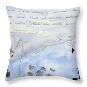 South Jetty Moment Throw Pillow