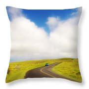 South Kohala Throw Pillow