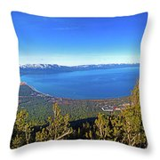 South Lake Tahoe Throw Pillow