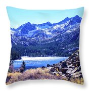 South Lake Throw Pillow