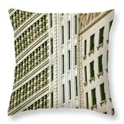 South Michigan Avenue Throw Pillow