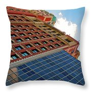 South Michigan Avenue Throw Pillow