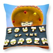South Of The Border Throw Pillow