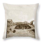 South Park San Francisco Circa 1870 Throw Pillow