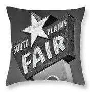 South Plains Fair Throw Pillow