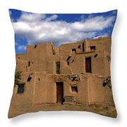 South Pueblo Taos Throw Pillow