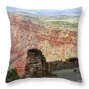 South Rim Grand Canyon  Throw Pillow