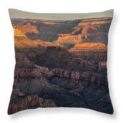South Rim Sunrise - Grand Canyon National Park - Arizona Throw Pillow