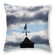 South-south-east Throw Pillow