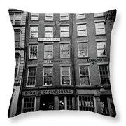South Street Throw Pillow