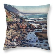 South To Pigeon Point Throw Pillow