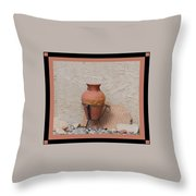 South West Potery Throw Pillow
