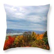 South Williamsport Foliage Throw Pillow