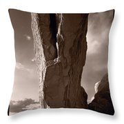 South Window Arch Arches National Park Throw Pillow