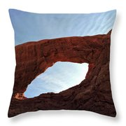 South Window Arch Throw Pillow