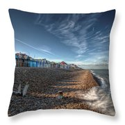 Southend On Sea Throw Pillow