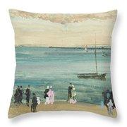 Southend Pier Throw Pillow