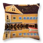 Southend Yacht Club Throw Pillow