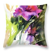 Southern Beauties Throw Pillow