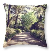 Southern Beauty 2 - Tallahassee, Florida Throw Pillow