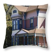 Southern California Painted Lady Throw Pillow