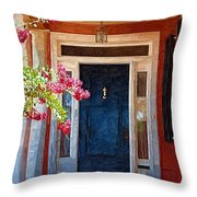Southern Door Throw Pillow