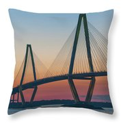 Southern Glow Over The Cooper Throw Pillow