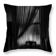 Southern Gothic The Empty Chair Throw Pillow