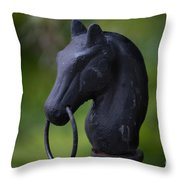 Southern Horse Head  Throw Pillow