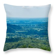 Southern Illinois Throw Pillow