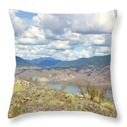 Southern Interior Bc Spring Throw Pillow