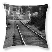 Southern Junction Throw Pillow