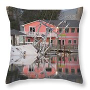 Southern Lady At Rest  Throw Pillow