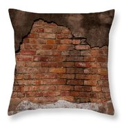 Southern Layers-signed-#5596 Throw Pillow