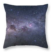 Southern Milky Way From Vela Throw Pillow