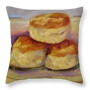 Southern Morning Fare Throw Pillow