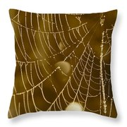 Southern Pearls Throw Pillow