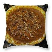 Southern Pecan Pie Throw Pillow