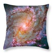 Southern Pinwheel Galaxy - Messier 83 -  Throw Pillow