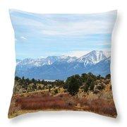 Southern Sawatch Vista Throw Pillow