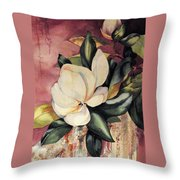 Southern Scents Throw Pillow