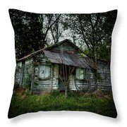 Southern Shack Throw Pillow