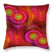 Southern Sun 2 Throw Pillow