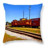 Southern Surreal 6 Throw Pillow