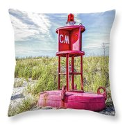 Southernmost Point Buoy- Cape May Nj Throw Pillow