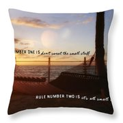 Southernmost Quote Throw Pillow