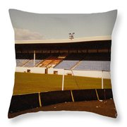 Southport Fc - Haig Avenue - Main Stand 2 - 1970s Throw Pillow